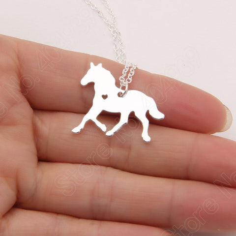 Horse Stallion Necklace - Season Finds