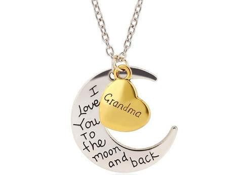 Moon and Back Necklace - Season Finds