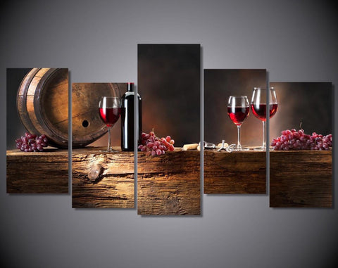 Wine Lovers Canvas - Season Finds