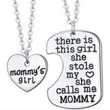 FREE 2 Piece Mommy's Girl Necklace - HorsinRound