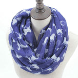 Horse Print Loop Shawl Infinity Scarf - HorsinRound - 4