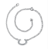 Silver Plated Anklet / Braclet - HorsinRound - 2