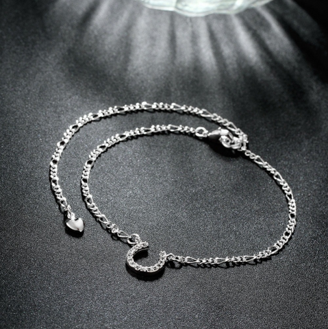 Silver Plated Anklet / Braclet - HorsinRound - 1