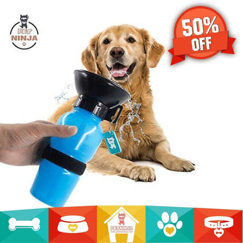 Pet Ninja Zero Mess, No Spill Dog Water Mug - Season Finds