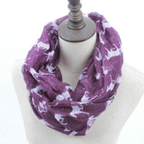 Horse Print Loop Shawl Infinity Scarf - HorsinRound - 8