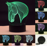 Horse Led Lamp - Season Finds