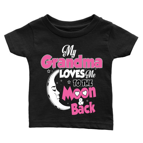 Copy of My Grandma Loves Me To The Moon and Back Pink - Employee Use Only - Season Finds