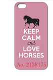 Love Horses Pink Cell Case - Season Finds