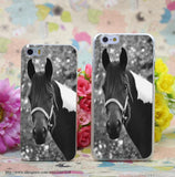 Horse Portrait Transparent iPhone Case - Season Finds