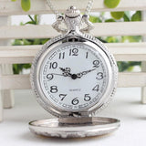 Classic pocket watch 3 horses - Season Finds