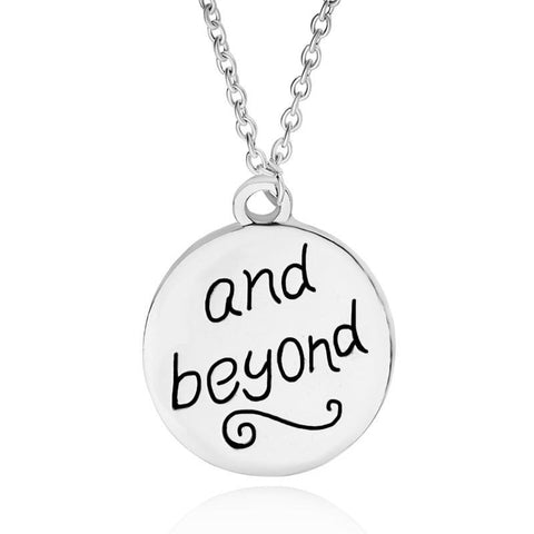 Silver plated pendant for soul mates - Season Finds