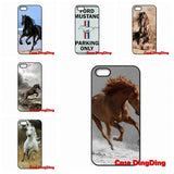 Cute phone cases customize Running Horse For iPhone 4 4S 5 5C SE 6 6S Plus Apple iPod Touch 4 5 6 Moto X1 - Season Finds