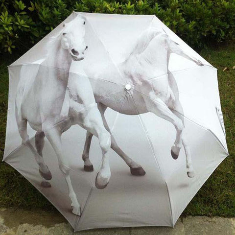 White Horse Beach Umbrella - Season Finds