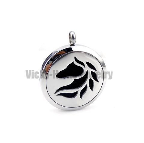 Horse Aromatherapy Necklace - Season Finds