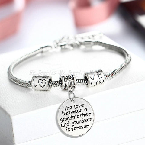 FREE  Love Between Grandmother And Grandson Bracelet