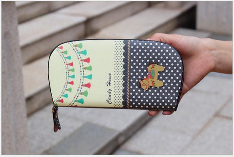 Cute horse long wallet - Season Finds