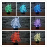 7 Colors Changing Lamp