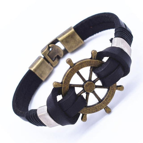 Vintage Anchor Bracelet - Season Finds