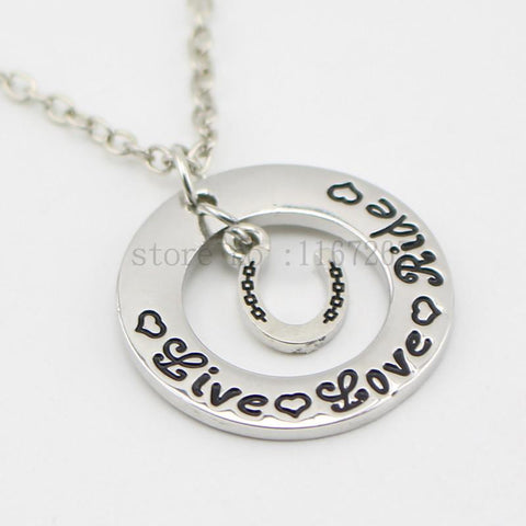 Live Love Ride Necklace - Season Finds