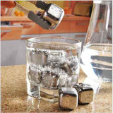Stainless Steel Ice Cube (per piece)