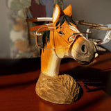 Stand for Glasses Hand-carved Deer /Dog /Horse - Season Finds