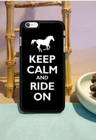 Ride on cell phone case - HorsinRound - 1