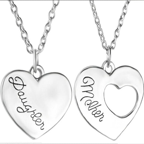 FREE 2 Piece Mother and Daughter Necklace - HorsinRound - 1