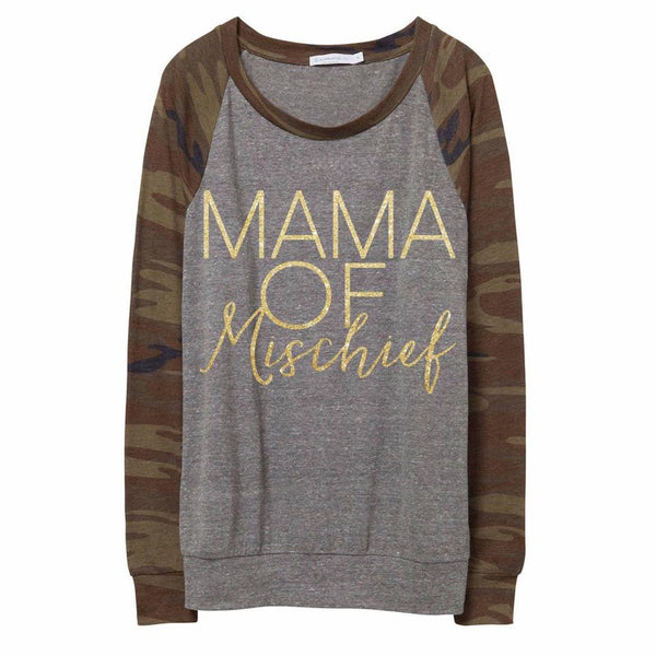 MAMA of Mischief Tees & Tanks