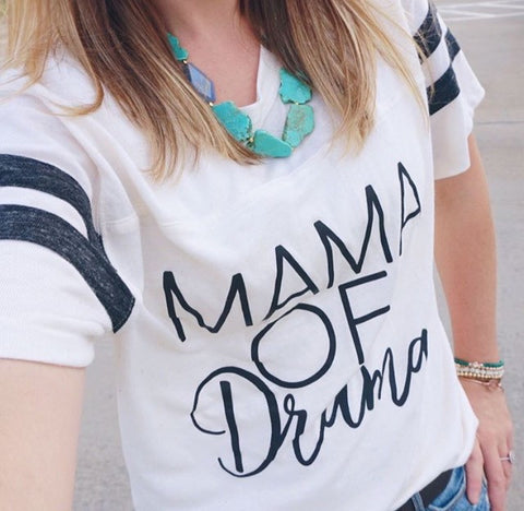 MAMA of Drama Tees & Tanks