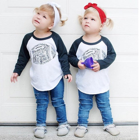 Infant & Kids Football Tees