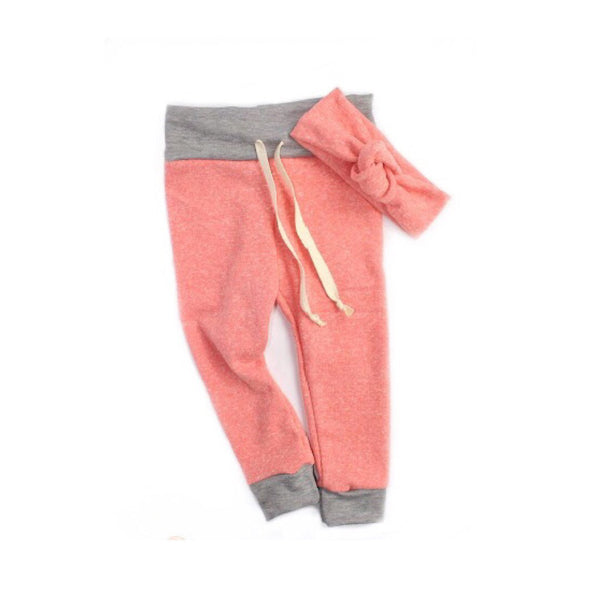Orange Crush French Terry Joggers