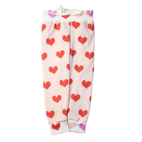 Blush & Poppy Heart Joggers