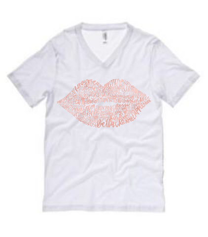 50 Shades Lip Colors Tee