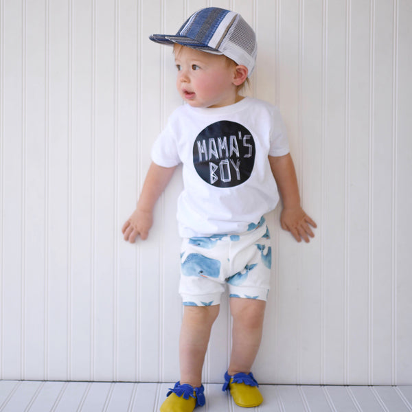 Whales Shorts & Bloomers