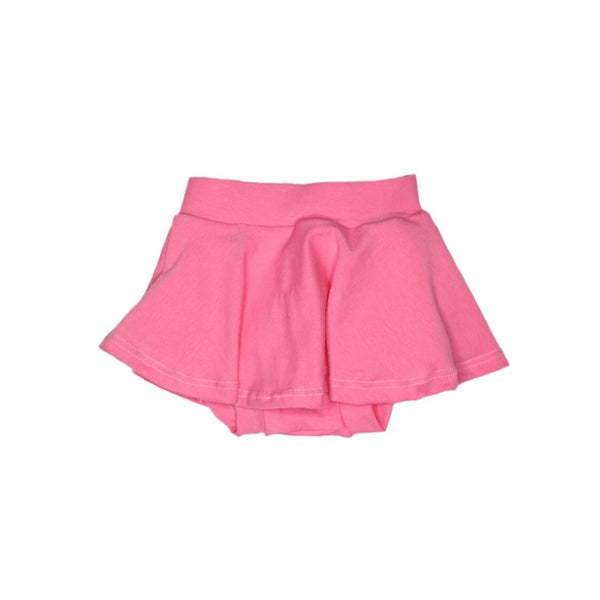Solid Pink Skirted Bloomers