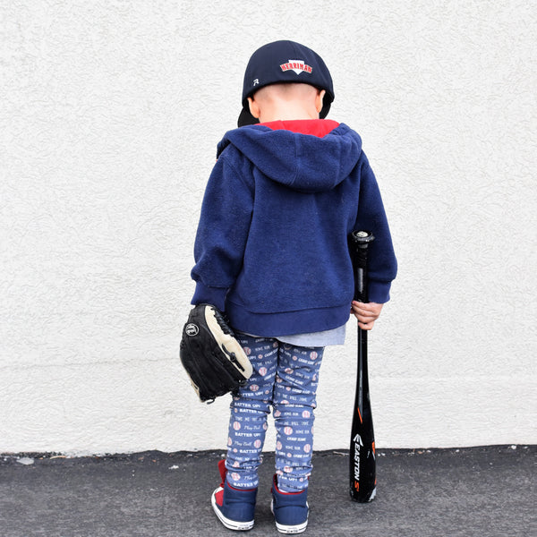 All Star Navy Baseball Joggers