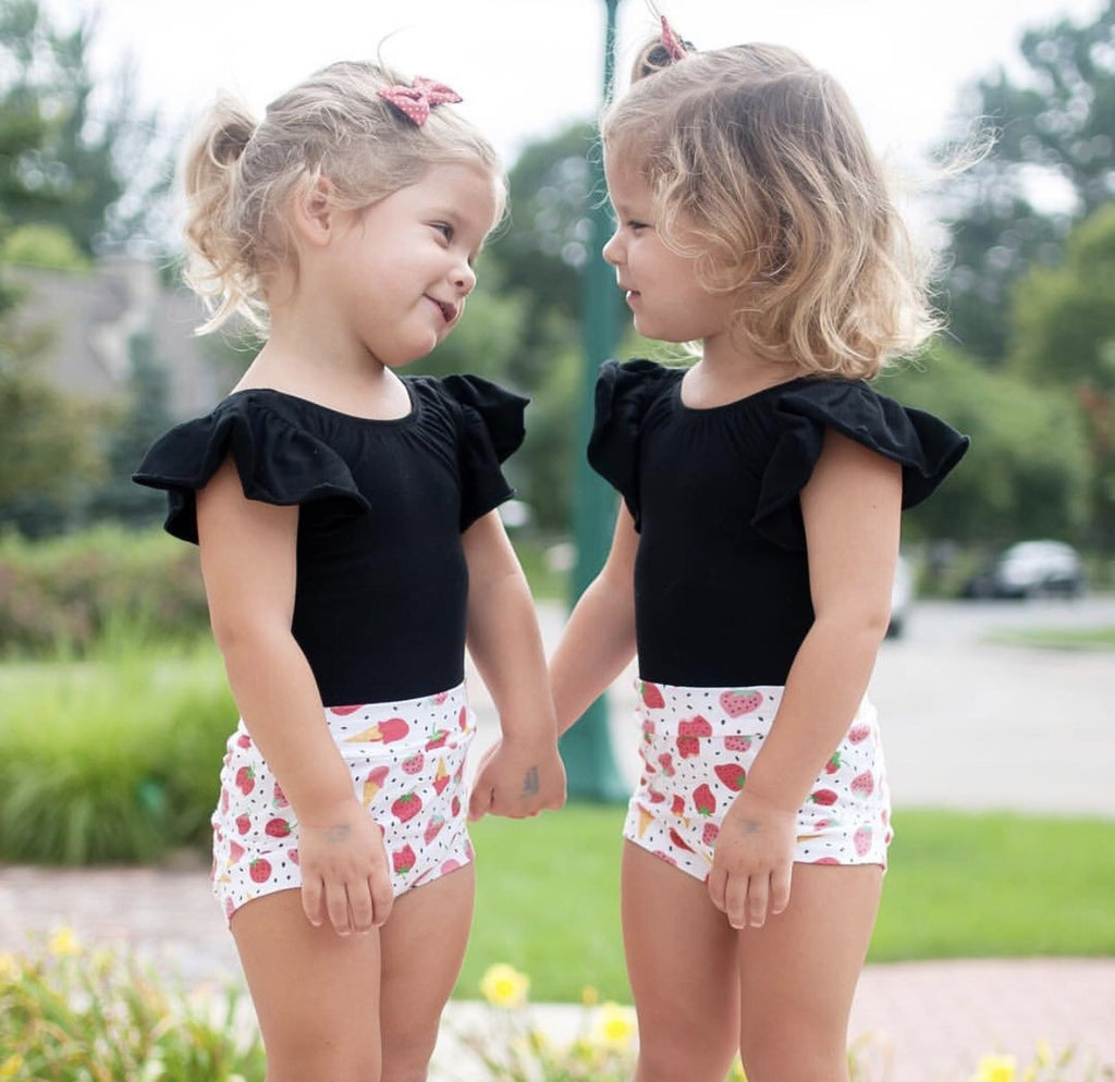 Strawberries & Ice Cream Shorts & Bloomers