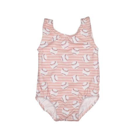 Daddy's Girl Baseball Leotard