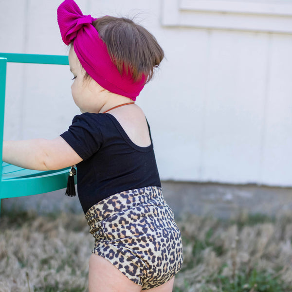 Leopard Shorts & Bloomers