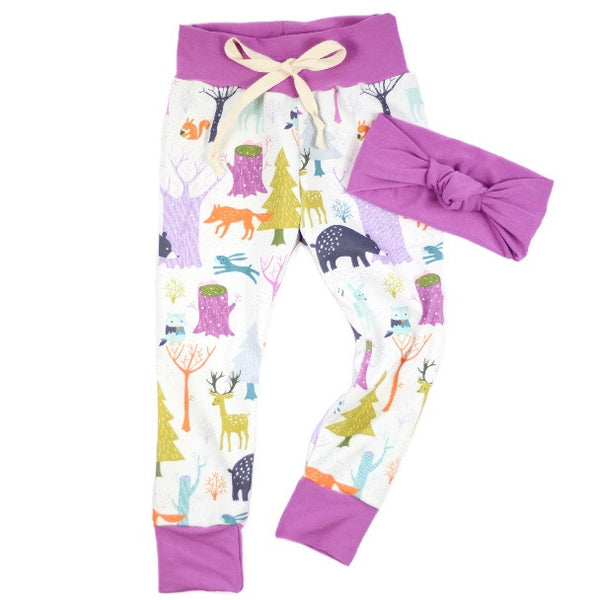 Whimsical Woodlands Joggers