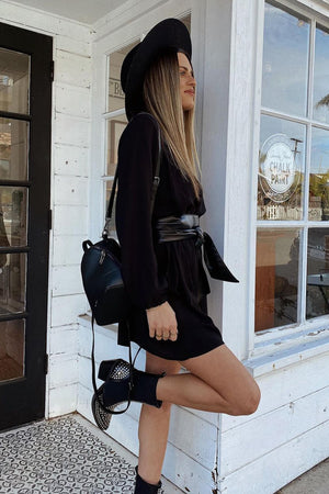 Black Perspective Studded Chelsea Boots
