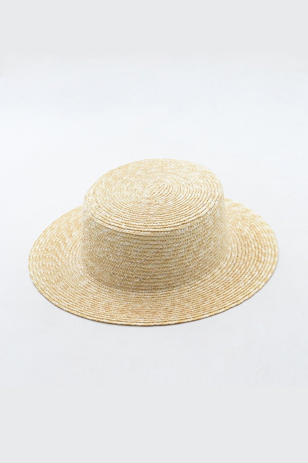 Wheat Straw Flat Boater