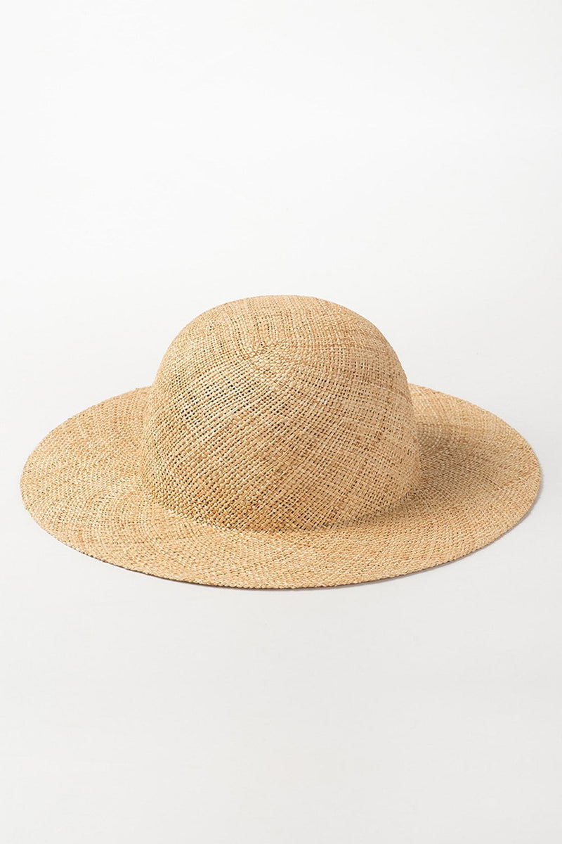 Bao Straw Dome Crown Sun Hat (2207890014267)