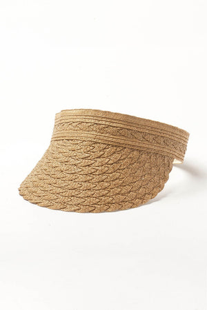 Straw Wrap Around Visor (2207890276411)