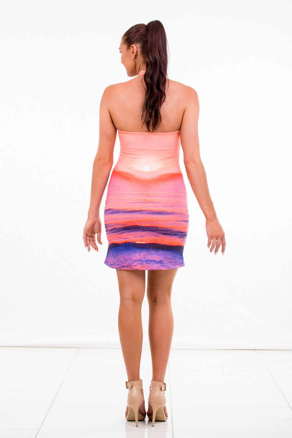 "Summer Womens Cross Over ""Sunrise"" Dress"