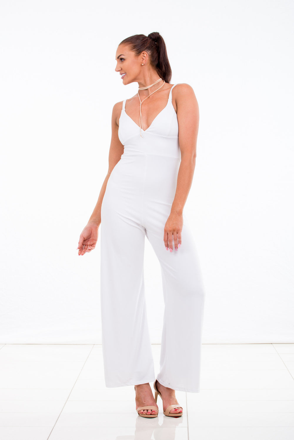 womens jumpsuit white made in Australia