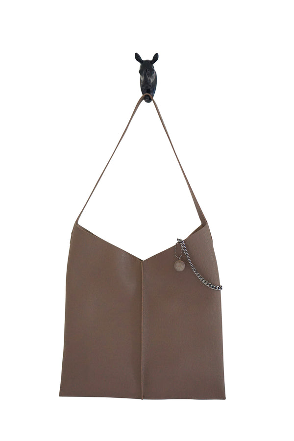 Kesa + Konc Vegan Leather Sage Talin Tote Bag