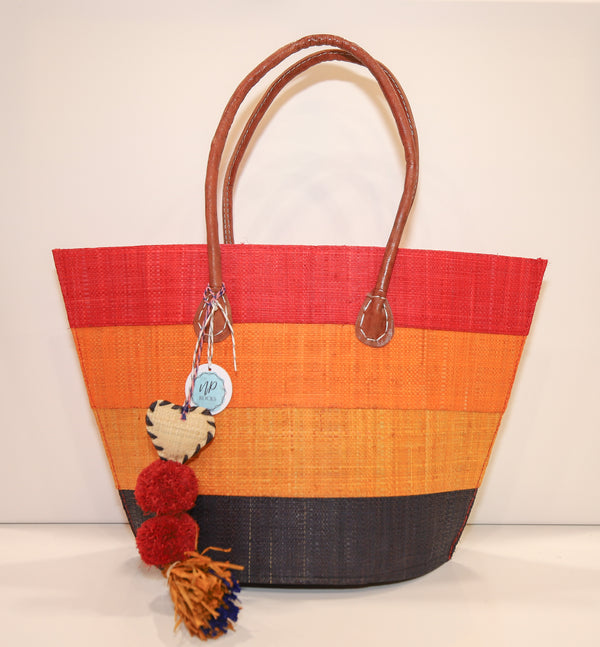 NP Rocks Casual Red/Orange/Black Bag