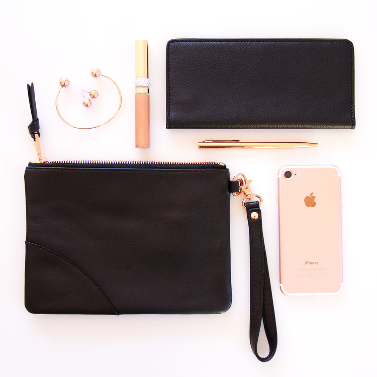Kesa + Konc Classic Collection Wallet Black