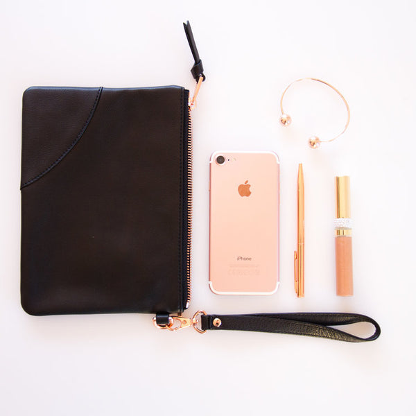 Kesa + Konc Classic Collection Pouch Black
